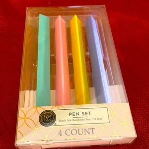 Pastel set of pens